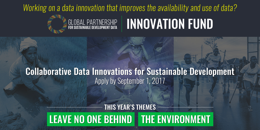 Collaborative Data Innovations for Sustainable Development Promo