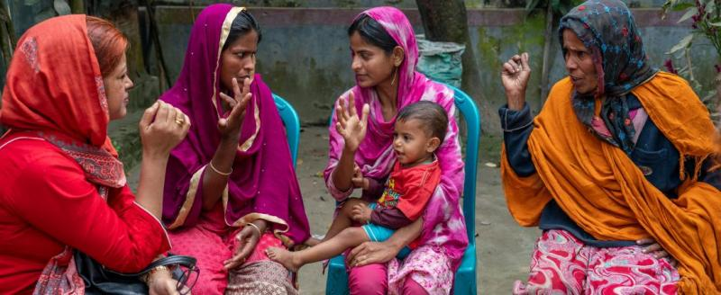 Breaking down barriers to eye health in South Asia. Narsingdi district, Bangladesh © Sightsavers/ Reza Shahriar Rahman.